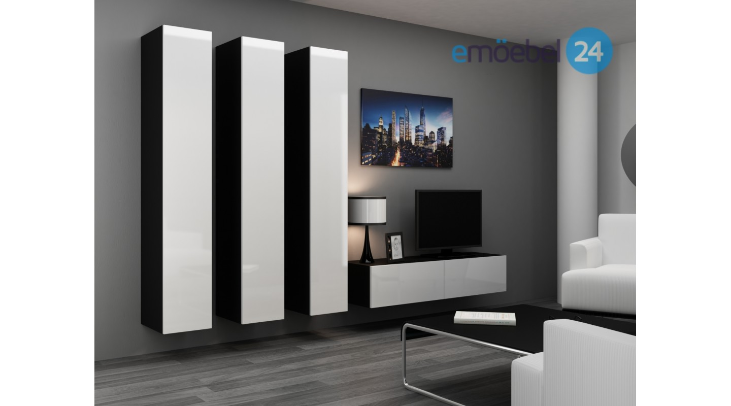 wohnzimmer wandgestaltung. Black Bedroom Furniture Sets. Home Design Ideas