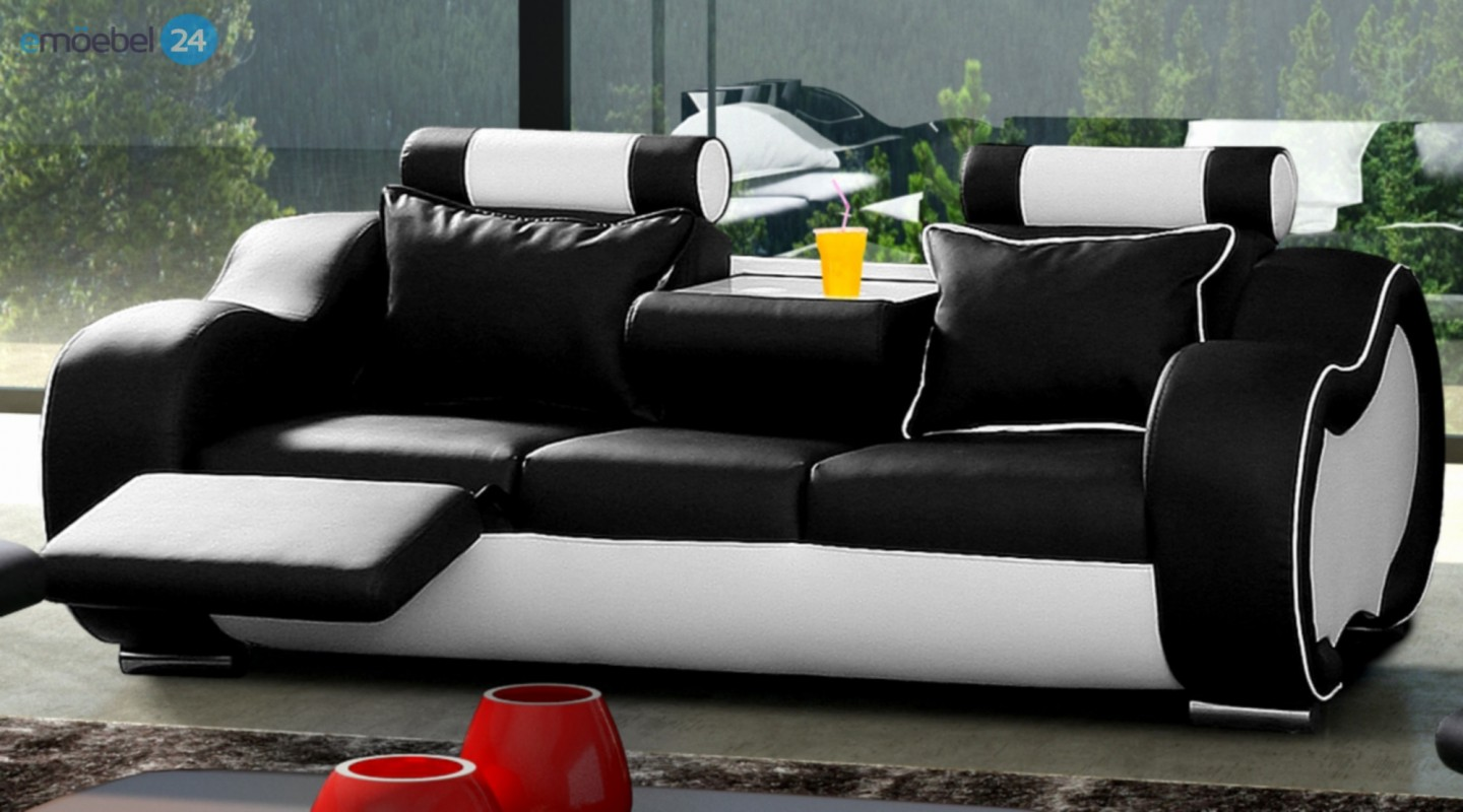 Great Stunning Alaska Set Couch Sofa With Couch With Schwarz Weiss Sofa