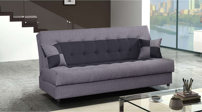 torino sofa couch wohnzimmer grau anthrazit schwarz - emoebel24 - Wohnzimmer Grau Schwarz