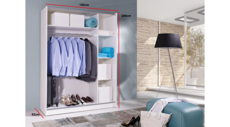 batumi schrank spiegel wei eiche sonoma komandor typ. Black Bedroom Furniture Sets. Home Design Ideas
