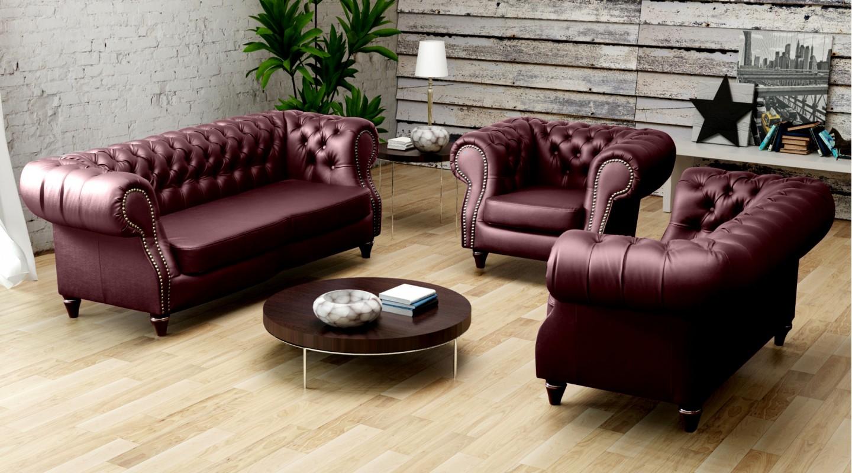 Exquisit Sofa Echtleder Ideen Von Chesterfield Wohnzimmer Chesterfield