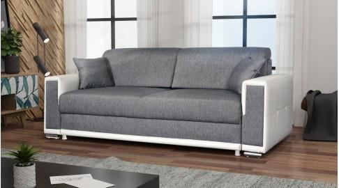 Kairo Sofa Couch Schlaffunktion Webstoff Emoebel24