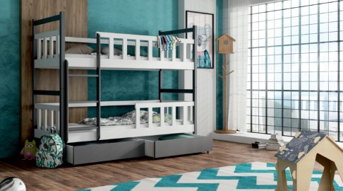 Etagenbett Doppelbett : Doppelbett hochbett cool doppelt modern mit ablage