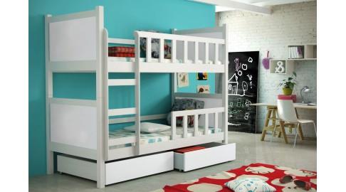 Kinderzimmer Mit Etagenbett : Bett peter kinderzimmer etagenbett weiss emoebel
