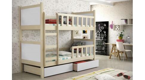 Etagenbett Holz Weiß : Hochbett aus holz mit leiter für mädchen kids paradise