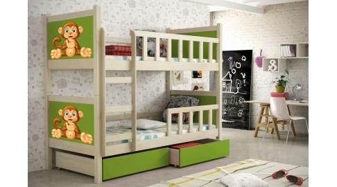 Etagenbett Einzelbett : Bettkasten für luka etagenbett und einzelbett cm weiß u ac