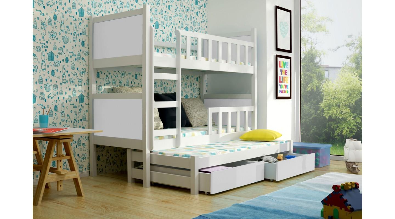 Etagenbett 3 Personen : Innenarchitektur etagenbett personen hochbett kinderbett nach