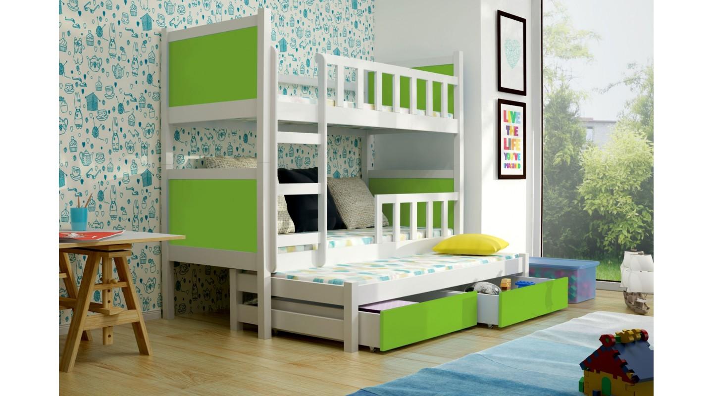 Etagenbett Drei Betten : Etagenbett jaris kinder für personen