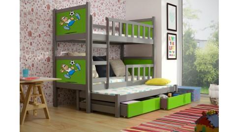 Etagenbett Grün : Bett pinokio kinderbett etagenbett grÜn grau emoebel