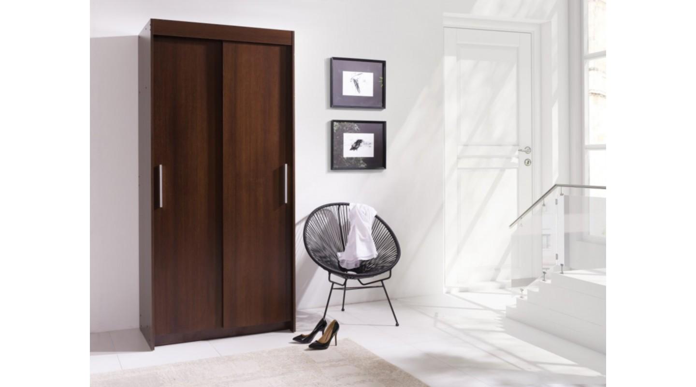 karo 100 schrank garderobe eiche sonoma wenge emoebel24. Black Bedroom Furniture Sets. Home Design Ideas