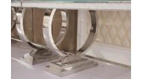 TISCH CHX-12890-00 MODERN BAROCK DESIGN GLASS MARMOR