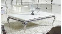COUCHTISCH CHX-13780-00 MODERN BAROCK DESIGN GLASS MARMOR