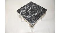 KAFFEETISCH CHX-13780-00 MODERN BAROCK DESIGN GLASS MARMOR